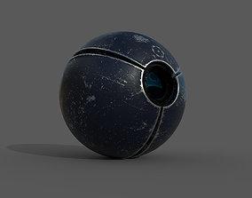 SciFi camera drone - PBR - lowpoly 3D model