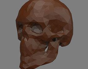 3D printable model Abstract skull