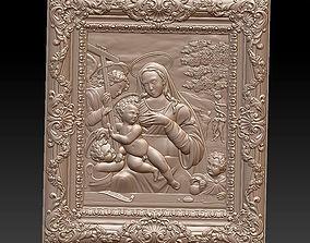 3D printable model Blessed Virgin Mary