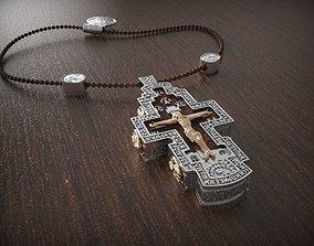 bible 3D print model Pendant cross