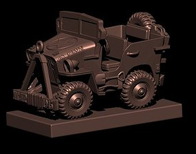3DMagiks - 1945 Willis Jeep - STL