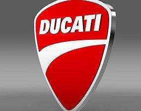 Ducati Logo 3D