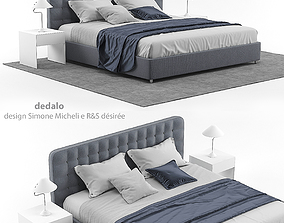 3D Dedalo bed by Desiree