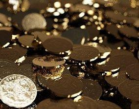 coins 3D asset