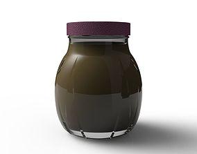 3D model Relief Jar 378ml liquor