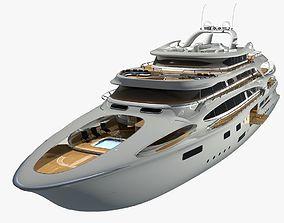 3D model Yacht project