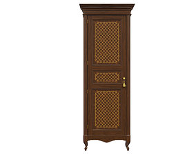 3D classic cabinet 03 02 carved