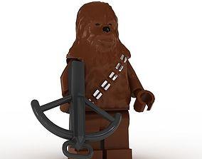 LEGO Minfigure Boba Chewbacca 3D