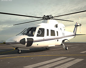 3D transport Sikorsky S-76