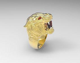 3D print model carrera big ring with gem