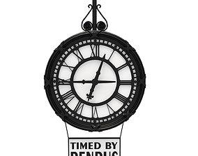 3D model Clock Benrus