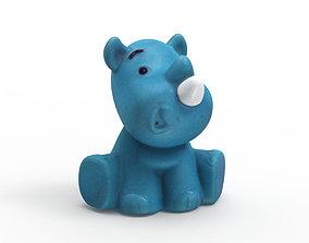 3D printable model Rhino Bath toy