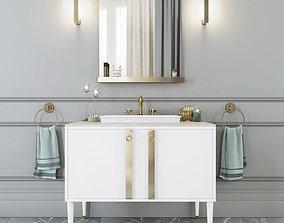 Mia Italia TRIBECA 06 Bathroom furniture 3D model