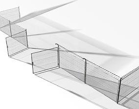 Rabitz fence 40000 tris 3D model