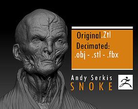 Andy Serkis - Supreme Leader Snoke - Star 3D print model