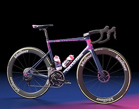 Bicycle Cannondale SuperSix EVO of Education 3D model 2
