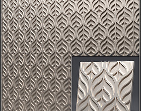 Gypsum 3D panel 4