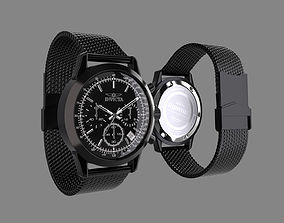 Invicta Watch Aviator Model technology 3D
