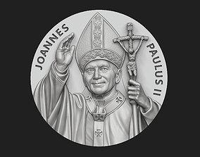 John Paul II Medallion no 2 3D printable model
