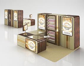3D Cigarettes Sale Stand