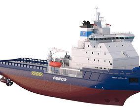 3D ship Icebreaker Fesco Sakhalin