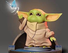 3D print model Baby Yoda - Star Wars