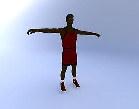 Basketball-Player 3D model