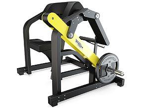 elliptical Technogym - Plate Loaded - Biceps 3D model