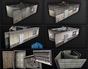 3D building modular components - construction kit