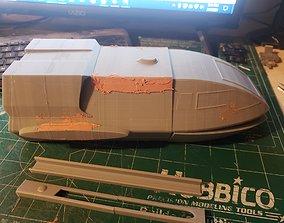 star trek shuttle movie version 3D print model