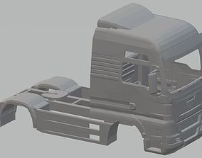 Man TGX V8 Printable Body Truck