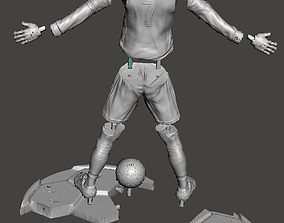 Cristiano Ronaldo na Juventus 3D print model