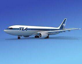 Airbus A-300 TEA 3D model