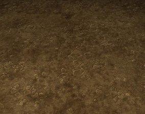 3D model ground soil tile 08