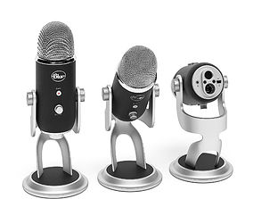Blue Yeti Pro USB Microphone 3D