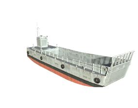 LCM-6 Landing Craft 3D asset