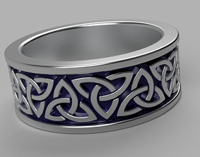Celtic Ring 1 3D printable model