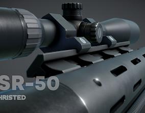 CSR-50 3D asset