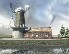 Windmill Apartment 3D model