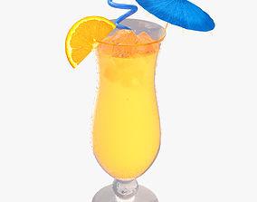 Orange Cocktail 3D model