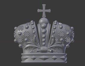 3D print model Crown Relief