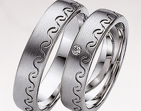 3D printable model Wedding ring 036
