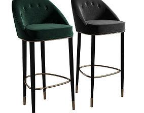 Brabbu Malay Bar Chair 3D