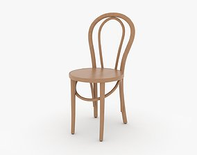 Wooden Chair 3D home