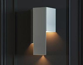 sconce 3D model Rubikon Wall lamp