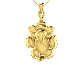 Lord Ganesha Pendant 3D printable model