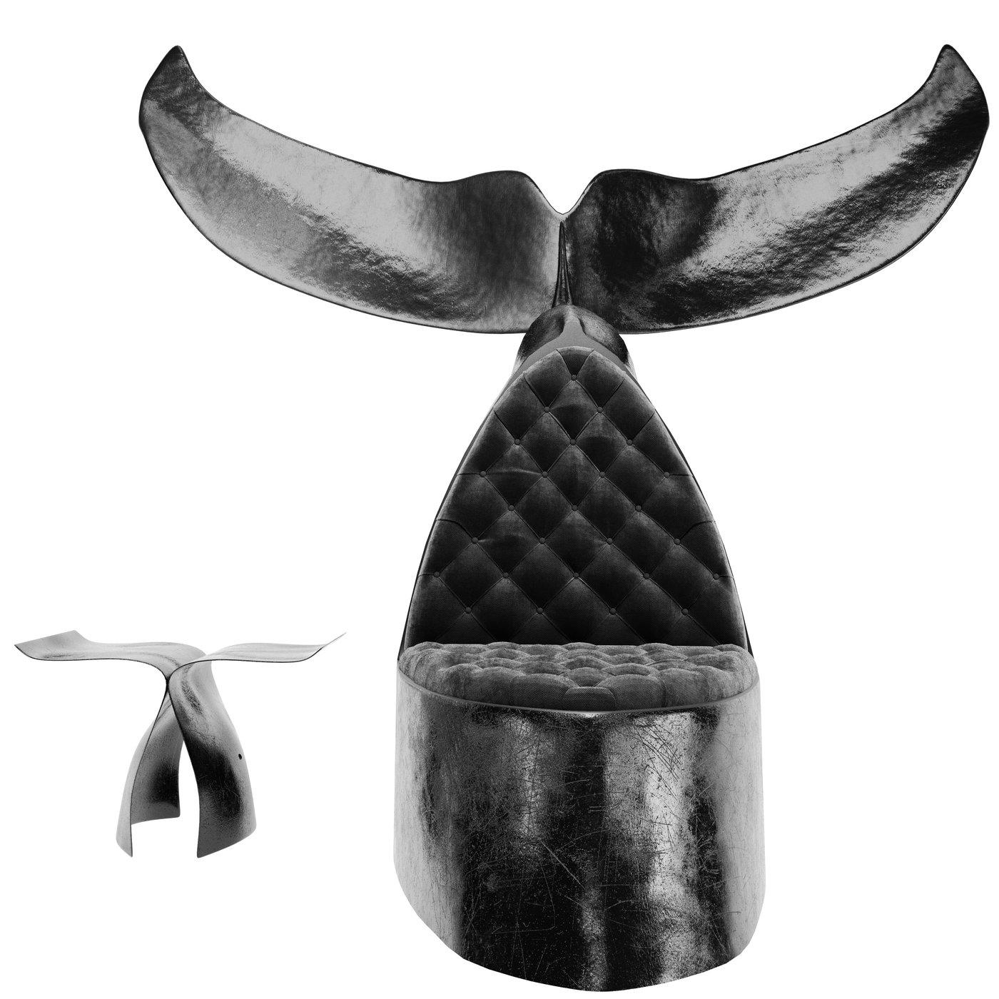 Whale Animal Chair