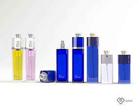 DIOR Addict Parfums Set 3D model