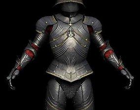 3D model Medieval Gothic Armor