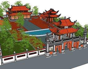 Architecture-Religion-God-Culture-Temple-0273 3D model